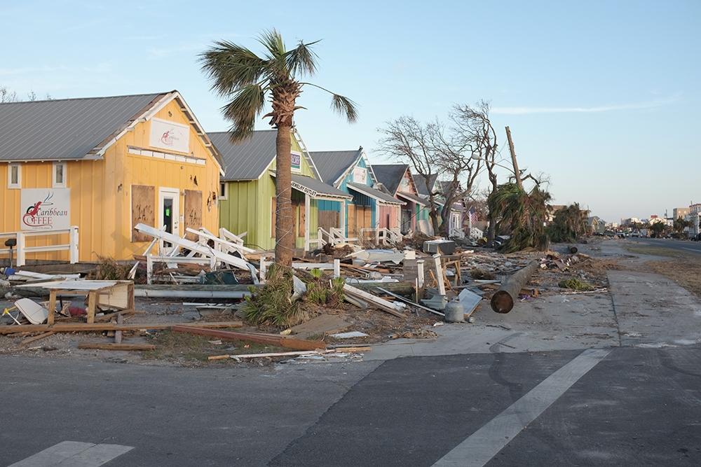Hurricane Michael Destruction