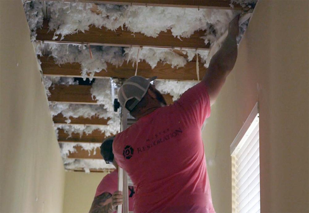 Master Restoration fixes hurricane damage